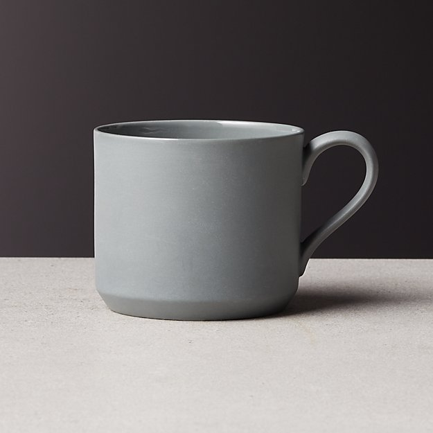 Frey Grey Colored Clay Mug - Image 1 of 1