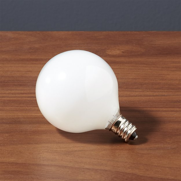 Frosted Light Bulbs >> Frosted Candelabra 25w Bulb