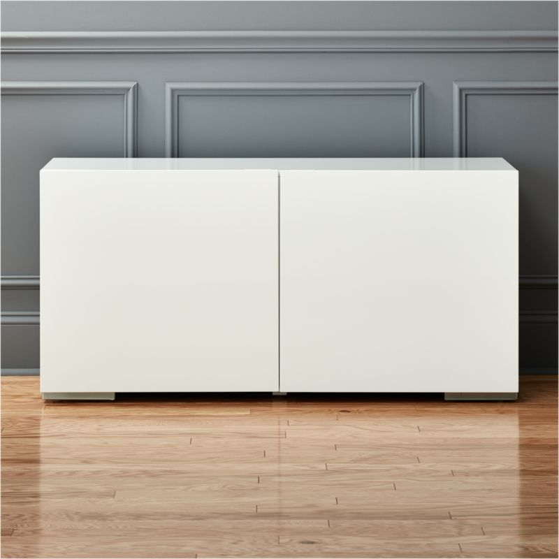 Charming Fuel White Credenza