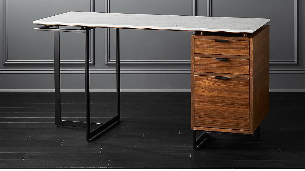Fullerton Modular Desk with Drawer and Leg - Image 1 of 7
