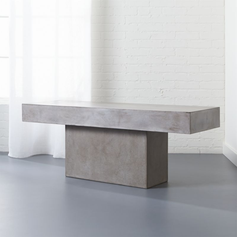 Cement Tables CB - Cb2 cement table