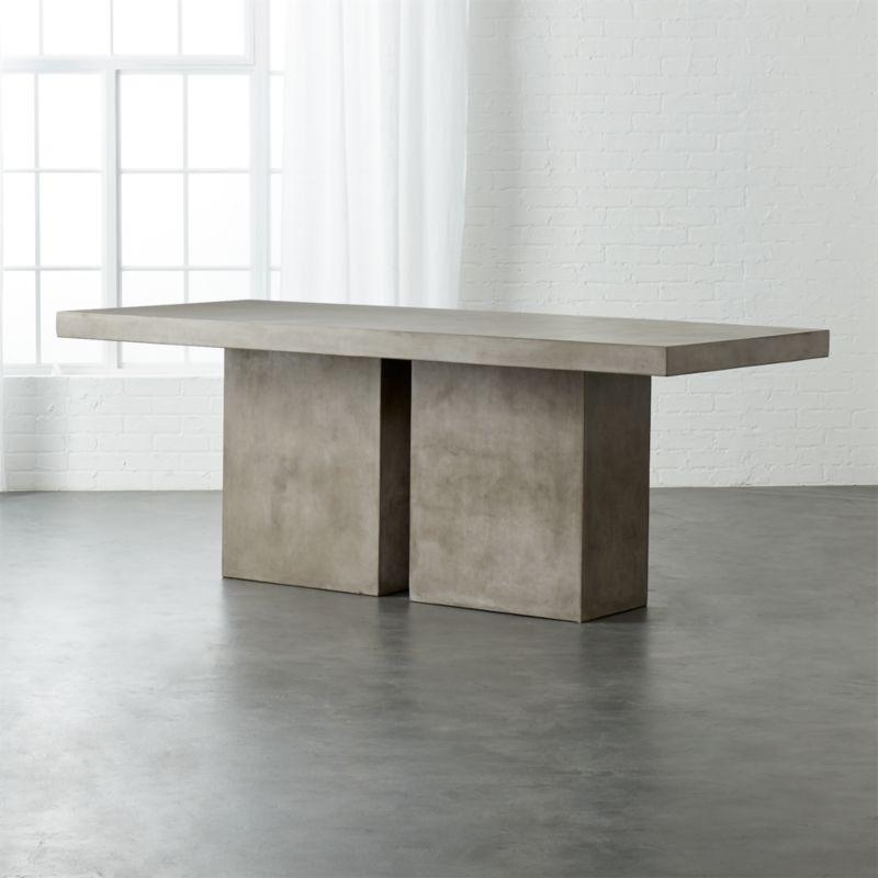 Fuze Large Grey Table