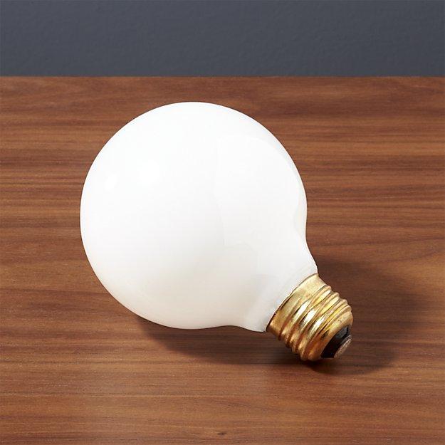 G25 Globe 60W Light Bulb - Image 1 of 3