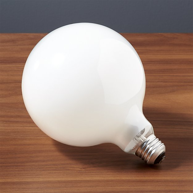 G40 Large Globe 60w Light Bulb Reviews Cb2