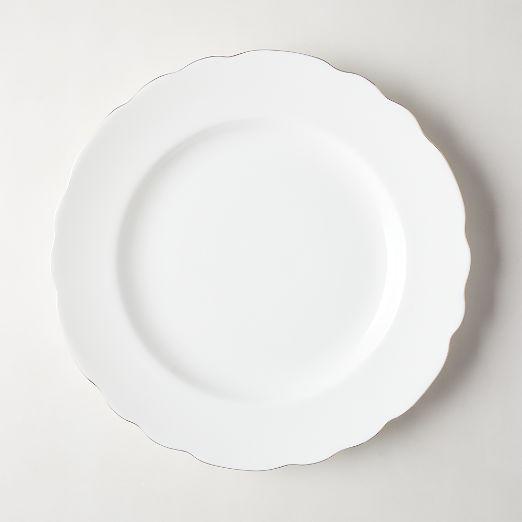 Chelsea White Dinner Plate