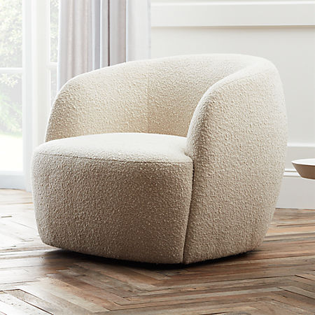 Strange Gwyneth Boucle Chair Gmtry Best Dining Table And Chair Ideas Images Gmtryco