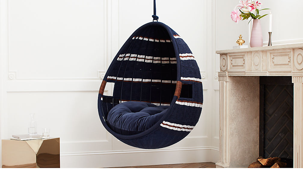 Moze Indoor Swing Chair Reviews Cb2