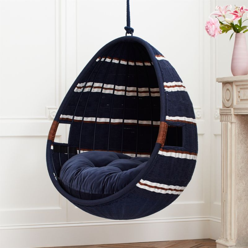 Moze Indoor Swing Chair Sold Out Reviews Cb2