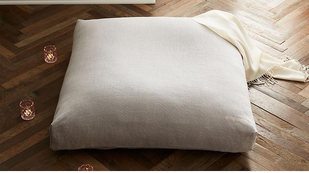 Sedona Large Zabuton Floor Pillow - Image 1 of 6