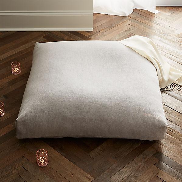 Sedona Large Zabuton Floor Pillow Reviews Cb2