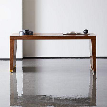 Elemental Large Wood Desk-Table