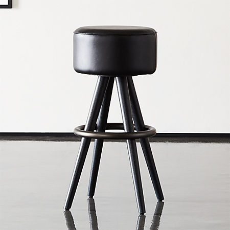 Fabulous Joi 30 Leather Bar Stool Pabps2019 Chair Design Images Pabps2019Com