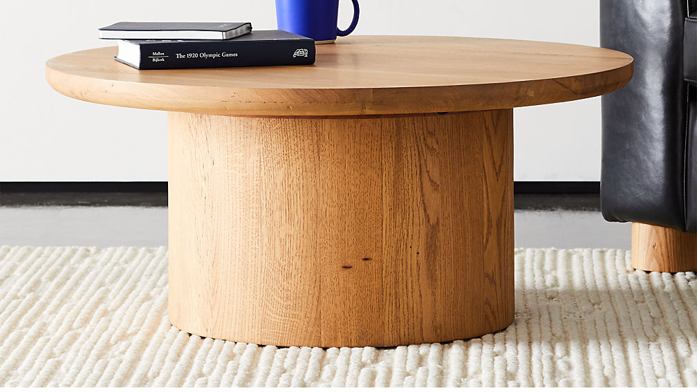 Justice Oak Coffee Table - Image 1 of 5