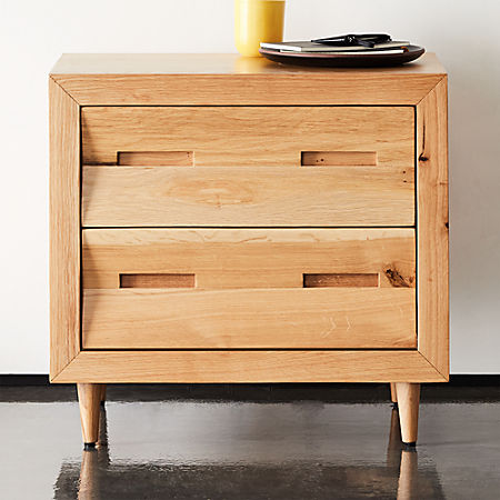 premium selection aed3f 37390 Nomi Oak Nightstand + Reviews | CB2