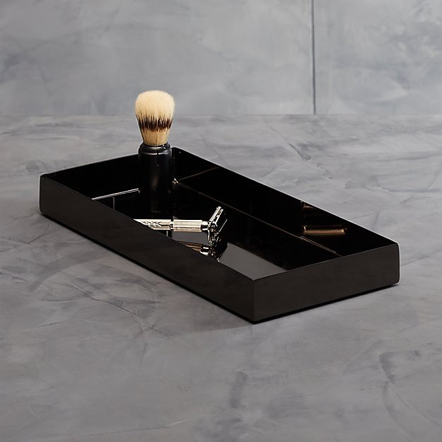 Richter Black Tank Tray - Image 1 of 11