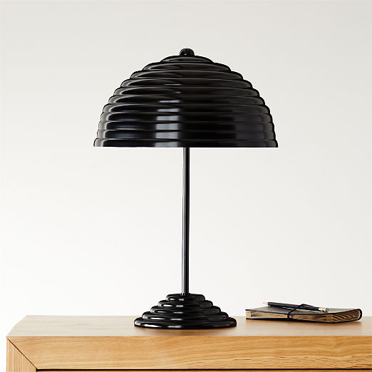 Ripley All-Black Table Lamp