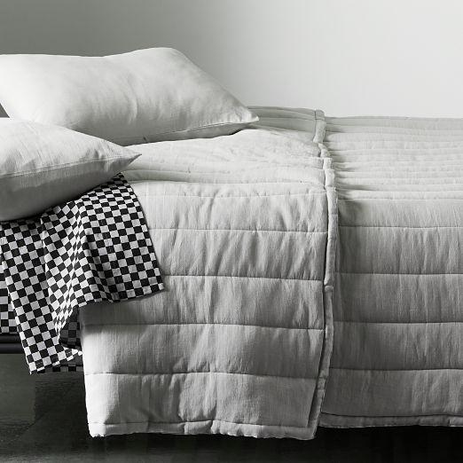 Ryder Grey Channeled Bedding