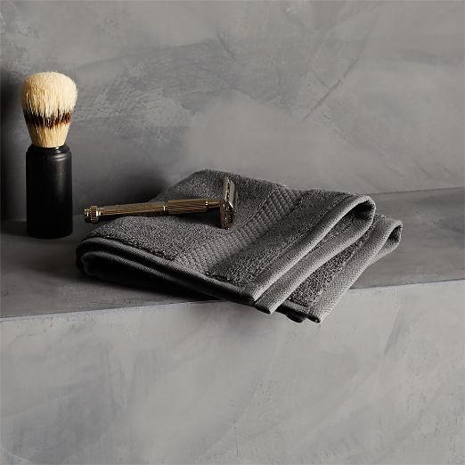 Slattery Dark Grey Washcloth
