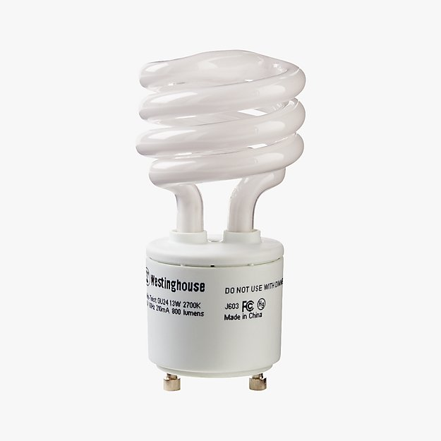 GU24 Mini 13W Light Bulb - Image 1 of 1