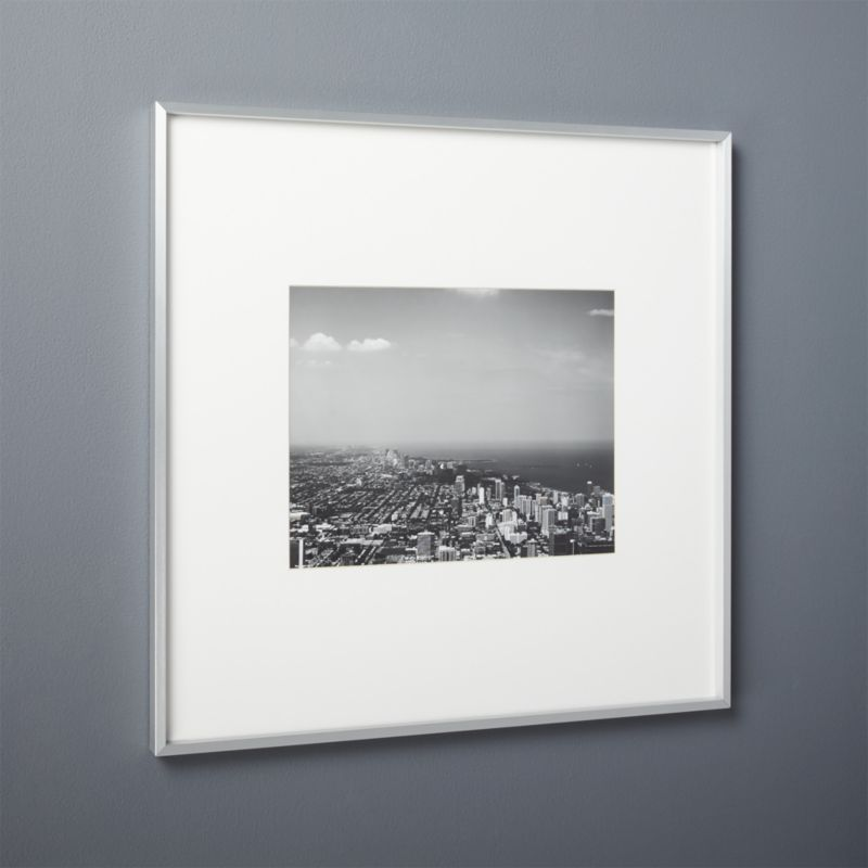 Silver Picture Frames | CB2