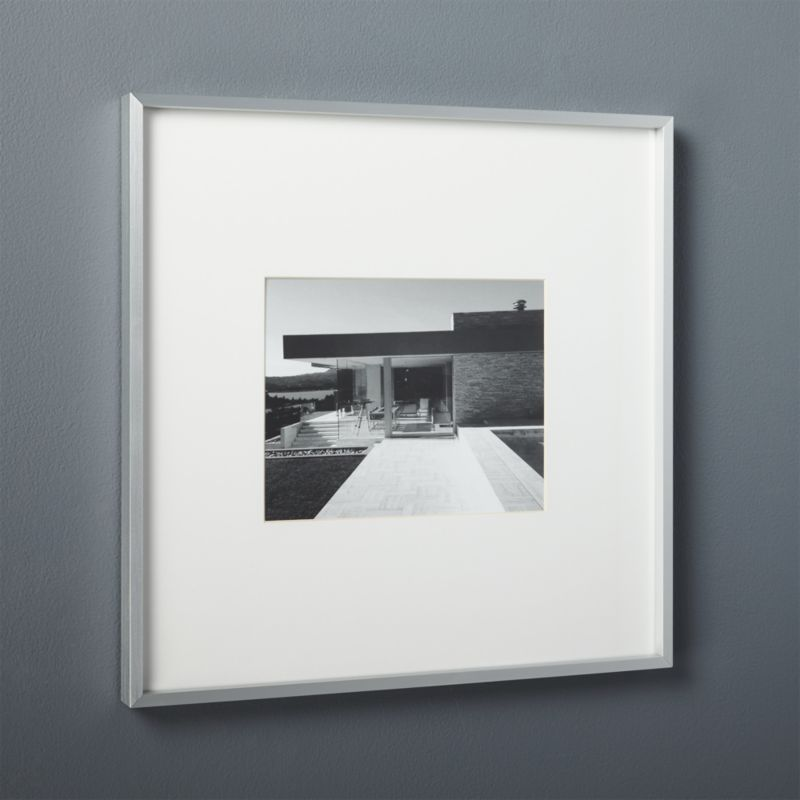 Silver Picture Frames Cb2