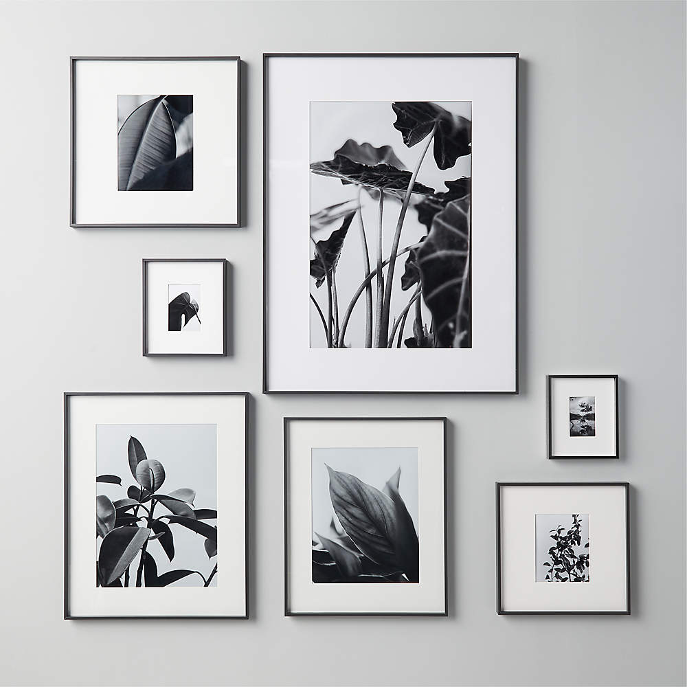 Gallery Black 200x200 Picture Frame + Reviews   CB20
