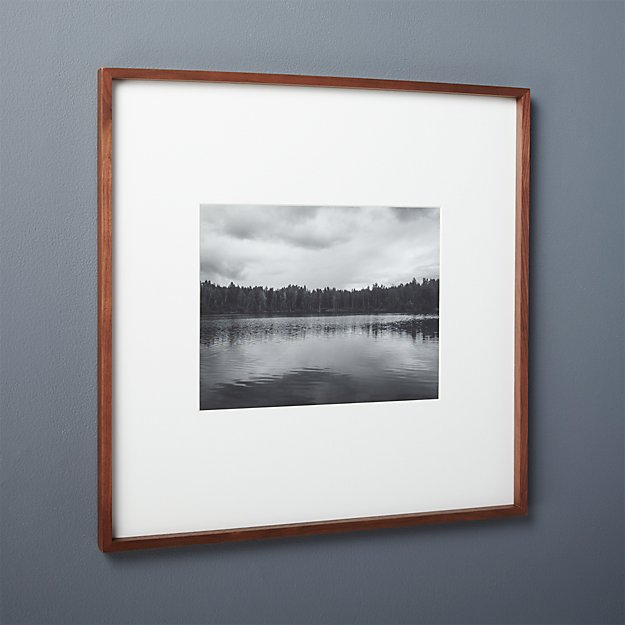 Gallery Walnut 11x14 Picture Frame Reviews Cb2
