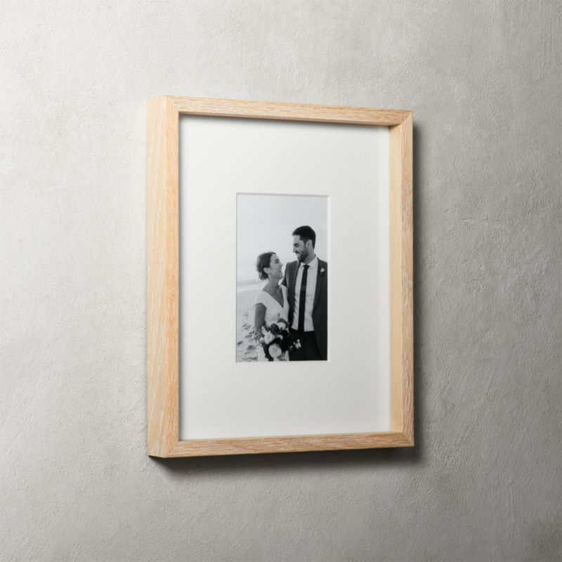 wooden picture frames | CB2
