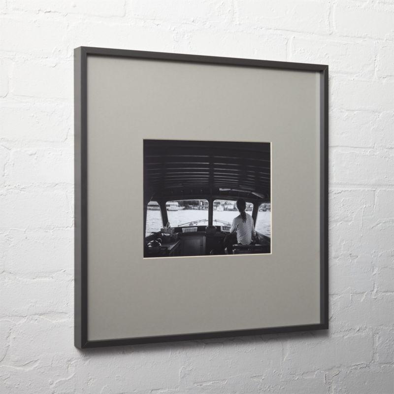 Black Picture Frames Cb2