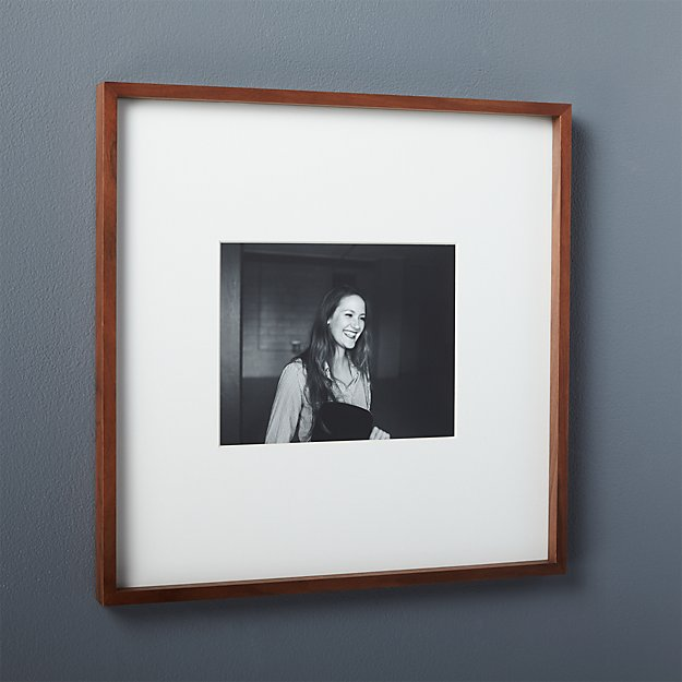 Gallery Walnut 8x10 Picture Frame Reviews Cb2
