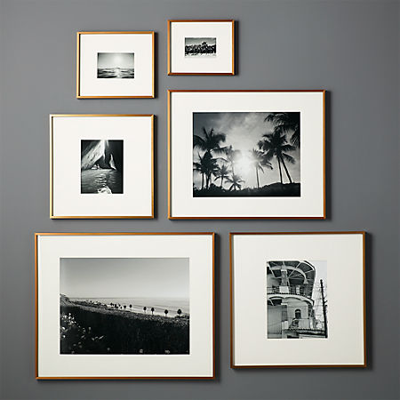 Gallery Br Frames With White Mats