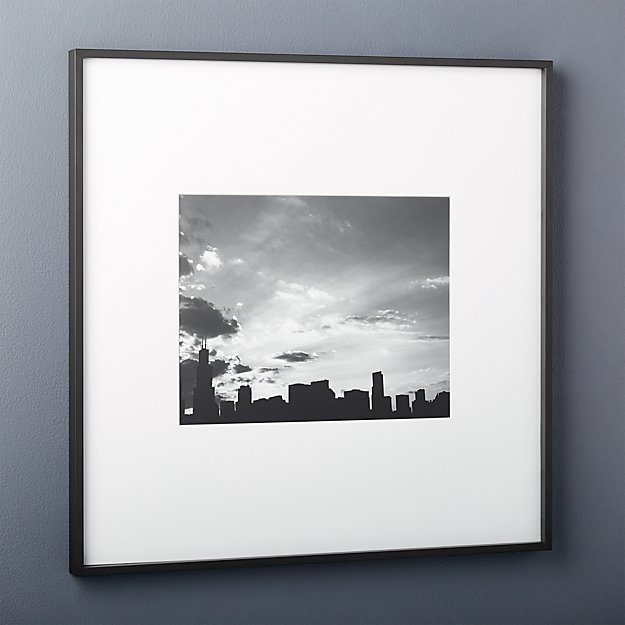 Gallery Black 11x14 Picture Frame - Image 1 of 7