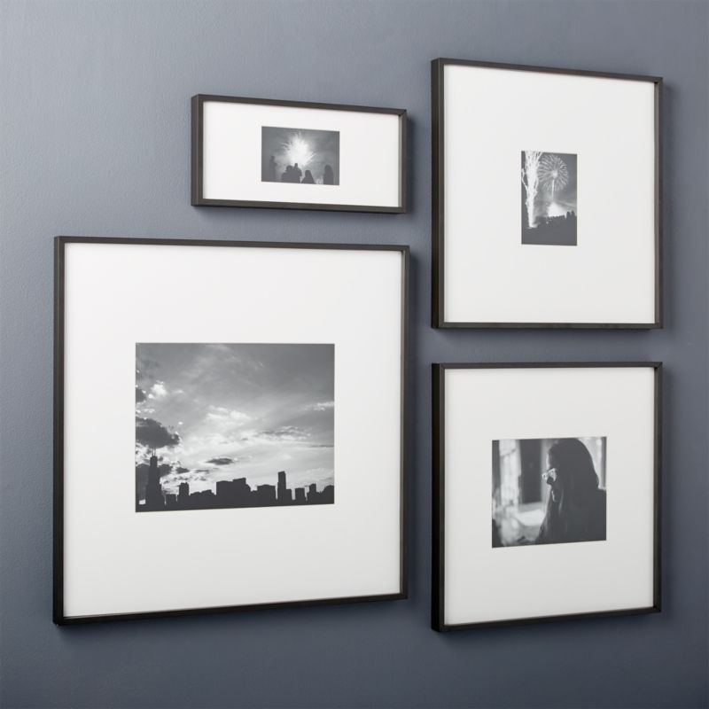 gallery black picture frames | CB2