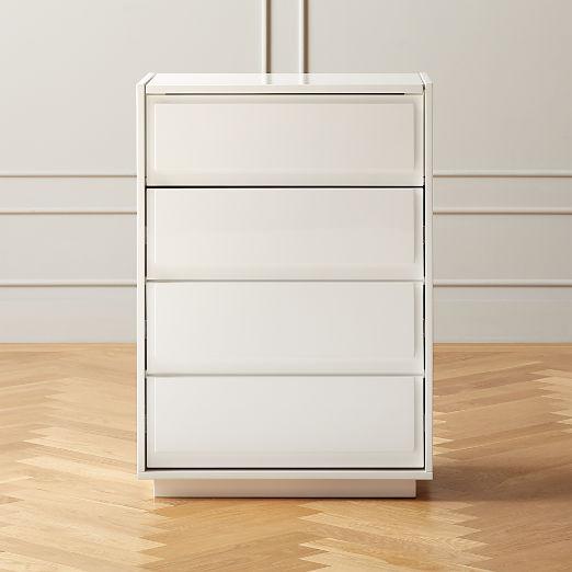 Gallery White Jewelry Storage Cabinet