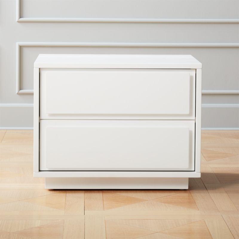 White Bedroom Furniture   CB2