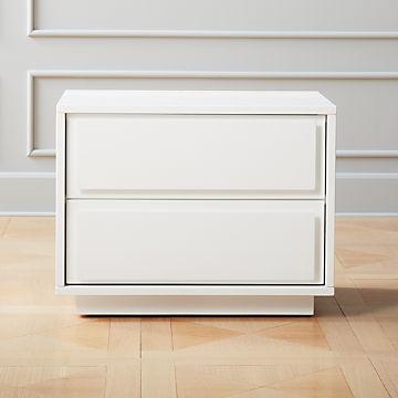 White Lacquer Furniture | CB2