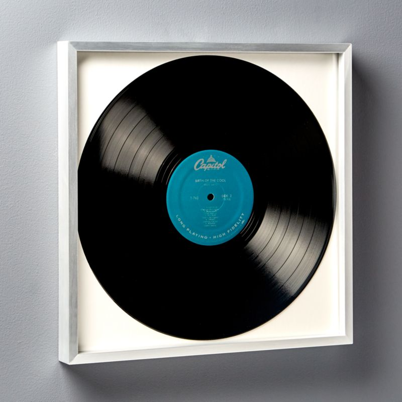 Gallery Silver Record Frame by Crate&Barrel