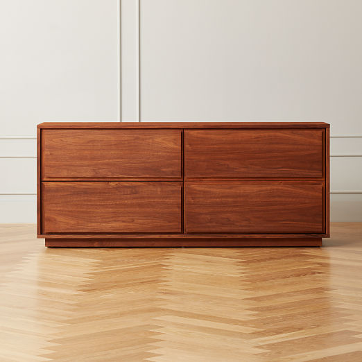 Gallery Walnut Low Dresser