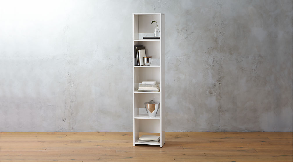 White Crate Wall Shelves