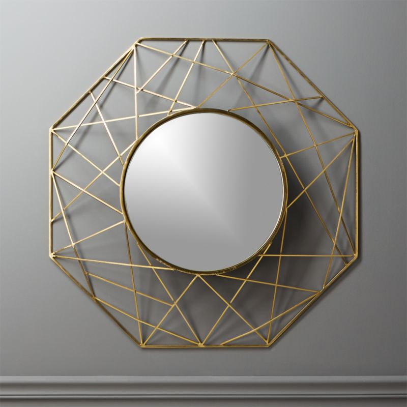 Gicobi Round Wall Mirror by Crate&Barrel