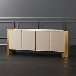 Gladys Mango Wood Media Console