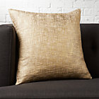 "18"" glitterati gold pillow"