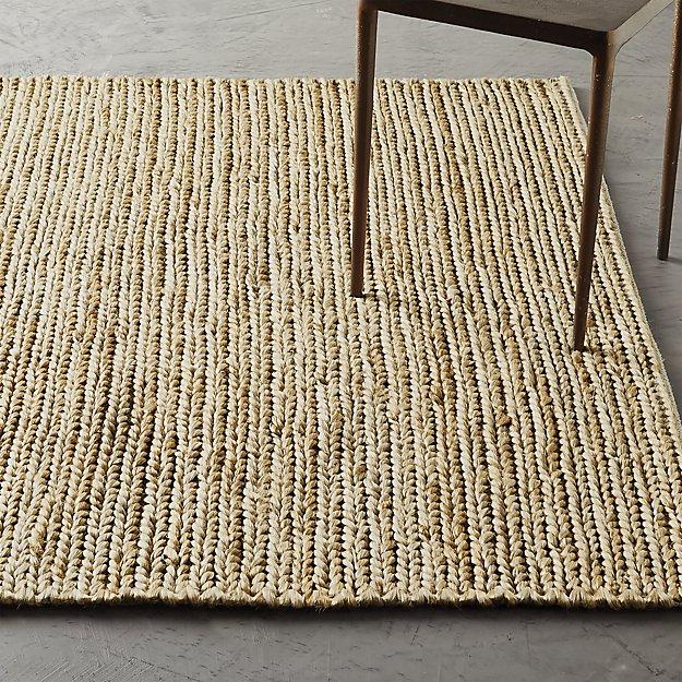 Gobi Braided Natural Jute Rug - Image 1 of 6