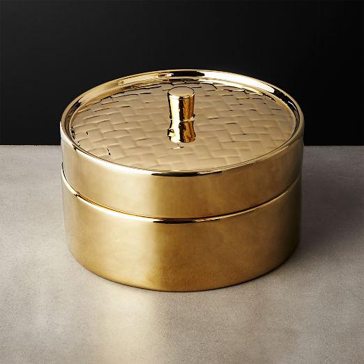 Gold Steamer Basket