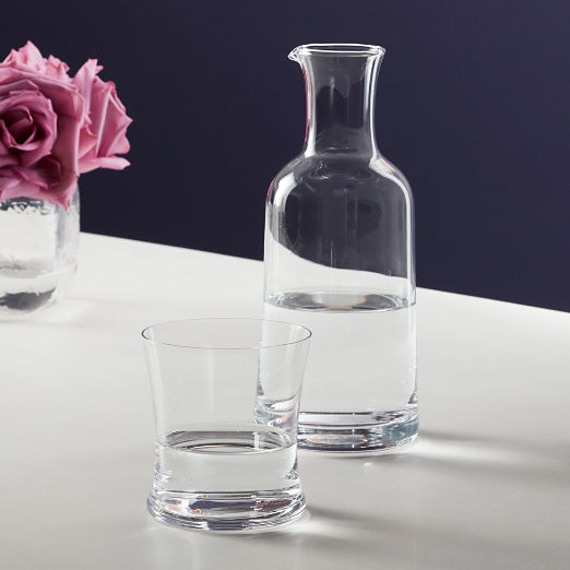 2-Piece Bedside Pitcher and Wilton Double Old-Fashioned Glass Set