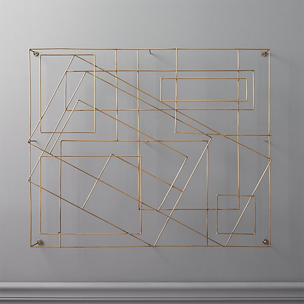 Graham Wire Wall Art - Image 1 of 7