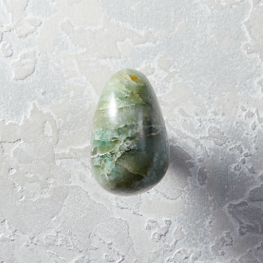 Green Agate Knob
