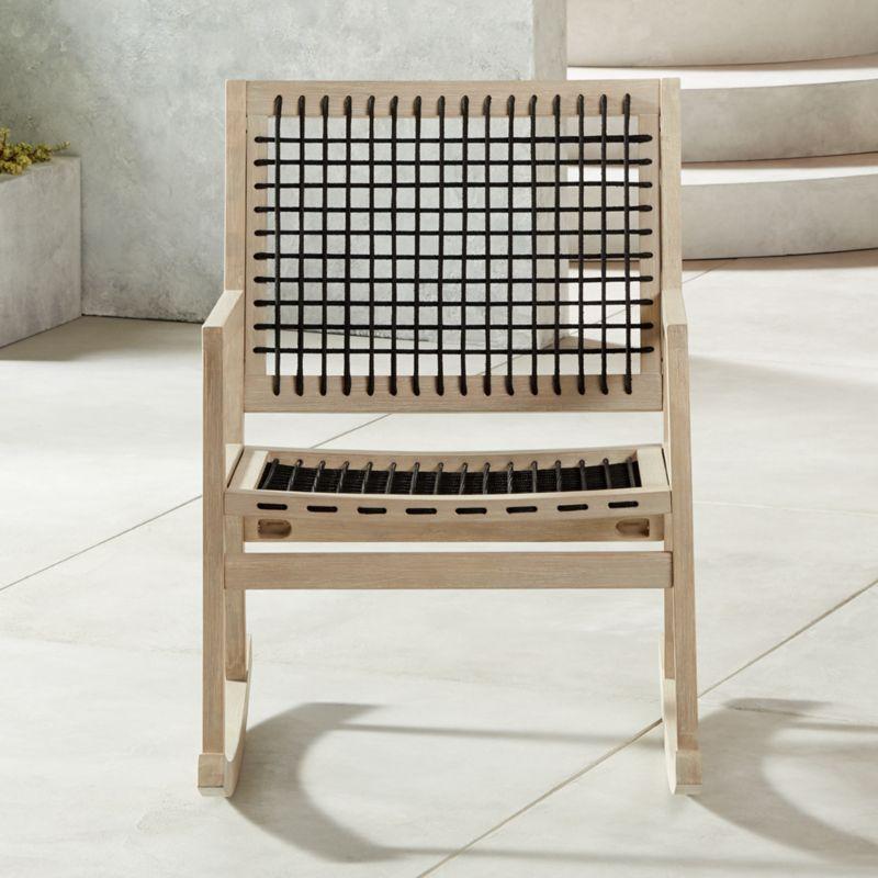 Surprising Grid Rocking Chair Theyellowbook Wood Chair Design Ideas Theyellowbookinfo