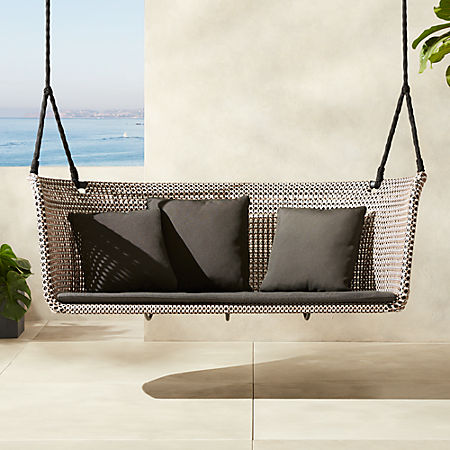 Marvelous Grove Hanging Loveseat Swing Alphanode Cool Chair Designs And Ideas Alphanodeonline