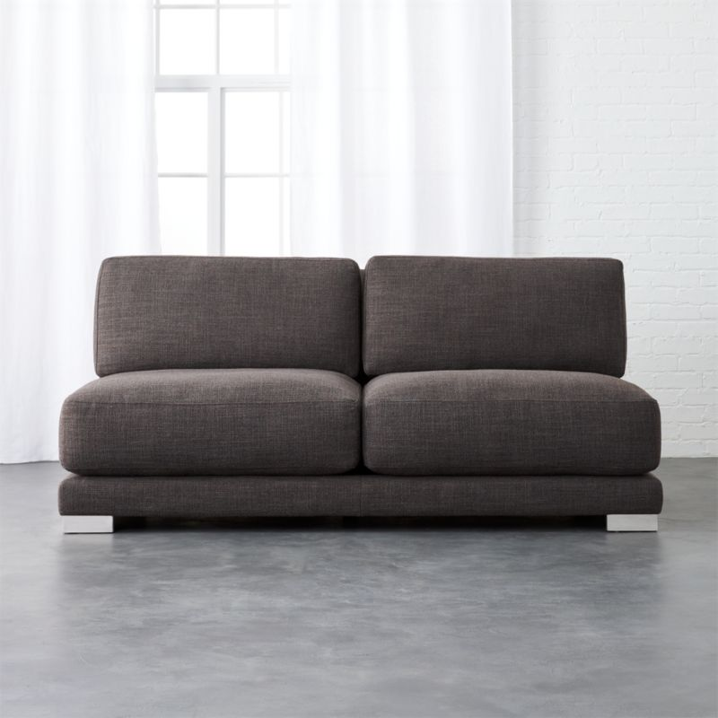 Gybson Earth Grey Loveseat